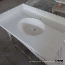 Superfície contínua acrílica da superfície da parte superior contrária / parte superior do trabalho
