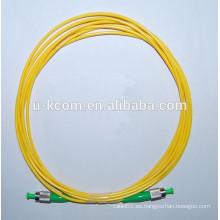 FC / APC-FC / APC Simplex SM Cable de conexión de fibra óptica