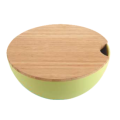 Natural Salad Bowl Set with Lid