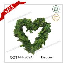 D20cm Décoration de mariage Préservée Woodwood Wreath Craft