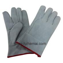 Double Palm Kuh Split Leder Handschuhe Short Welding Handschuh