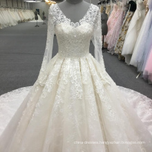Heavy beading wedding dress bridal gowns