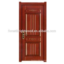 Nuevo diseño de puerta de madera de melamina para puerta interior interna