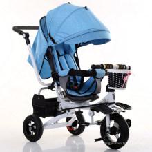 Triciclo del bebé del Trike de los niños del triciclo de los nuevos modelos 2017 con precio de fábrica