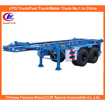 40ft 2-Axle Skeletal Container Semi Trailer