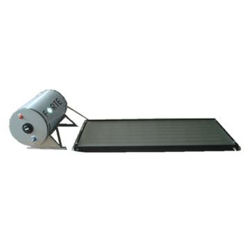 Collecteur de chaleur à panneau plat pour chauffe-eau solaire