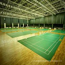 Bwf Certificación PVC / Vinilo Badminton Sport Pisos