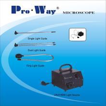 Microscope Accessory Cold Light Source & Optical Fiber Light Guide