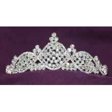 Custom Wedding Tiara Shiny Crystal Bridal Crown