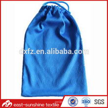 hot selling microfiber drawstring sunglass cleaning bag,custom sunglass cleaning pouch