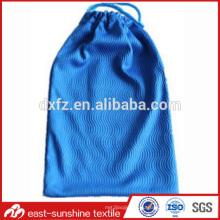 Горячий продавая мешок чистки sunglass drawstring microfiber, изготовленный на заказ мешок чистки sunglass