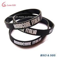 Bracelet caoutchouc promotionnel pour Logo personnalisé