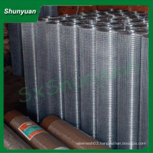 hot sale!!(Hot-dipped Galvanized And Pvc-coated)304 316 Stainless steel welded wire mesh(Direct Factory)