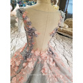 LS00261 sexy ladies western wear long evening dress for fat women patterns of lace plus size evening dress