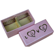 Wholesale Cardboard Chocolte Packaging with Hot Stamping Logo
