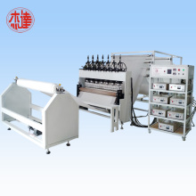 Ultrasonic embossing machine for vehicle cushion