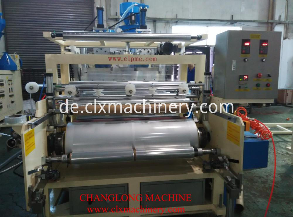 Stretch film manufacturing machine