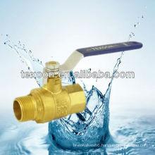 Threaded brass ball valves with full port (female thread*male thread) Leaded or Lead free