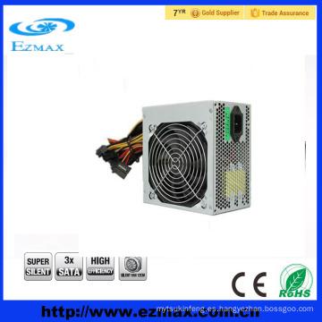 2016 Fuente de alimentación de conmutación de venta caliente ATX fuente de alimentación PC PSU SMPS con ventilador silencioso de 12 cm