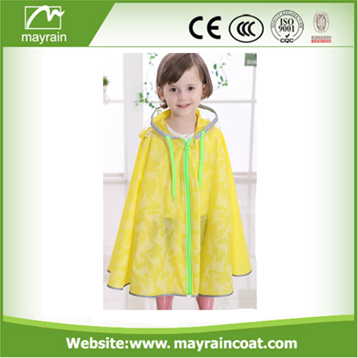 Cartoon Style Poncho