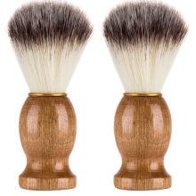 Cabelo de cerdas macias Homens Barba Maquiagem Escova de barbear
