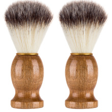 Soft Bristle Hair Men Beard Makeup Shaving Brush