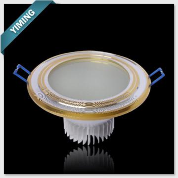 Golden 9W LED Ceiling Light
