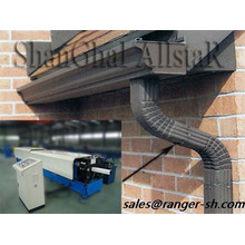 Metal square downspout roll forming machine manufacturer