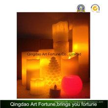 Беспламенные свечи-светодиодные свечи с разным типом