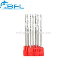 BFL-Solid Carbide 1 Flautas End Mill para el cortador de fresas de acrílico