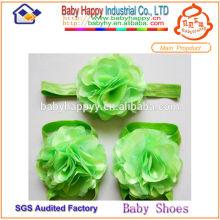 Chaussure de fleur de perles couleur enfant en option $ 1 dollar chaussures