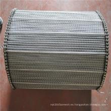 201,310S, 304,316,316L ss / banda transportadora de malla de alambre de acero inoxidable