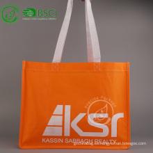 Bolsa de tela no tejida reciclable personalizada pp