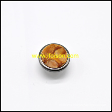 Combinated Imitation Horn Jeans Button