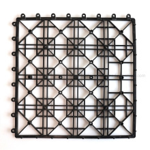 Stable Anti-Rot WPC Deck Tiles Plastic Support Tiles Plastic Base Floor Tiles Interlock Base Tiles Plastic Grid