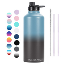 New Design Product Double Walled Wide Mouth Stainless Steel Vacuum Flask 80oz Water Bottle