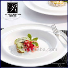 P & T chaozhou facotry en gros assortiment de plats en porcelaine, assiettes profondes