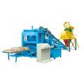 Venta caliente hidráulica Simens PLC ladrillo de azulejos de hormigón que hace la planta (QTY4-15)