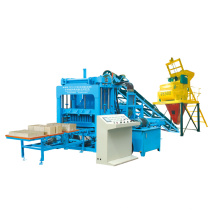 Hot Sell Hydraulic Simens PLC Concrete Tile Brick Making Plant (QTY4-15)