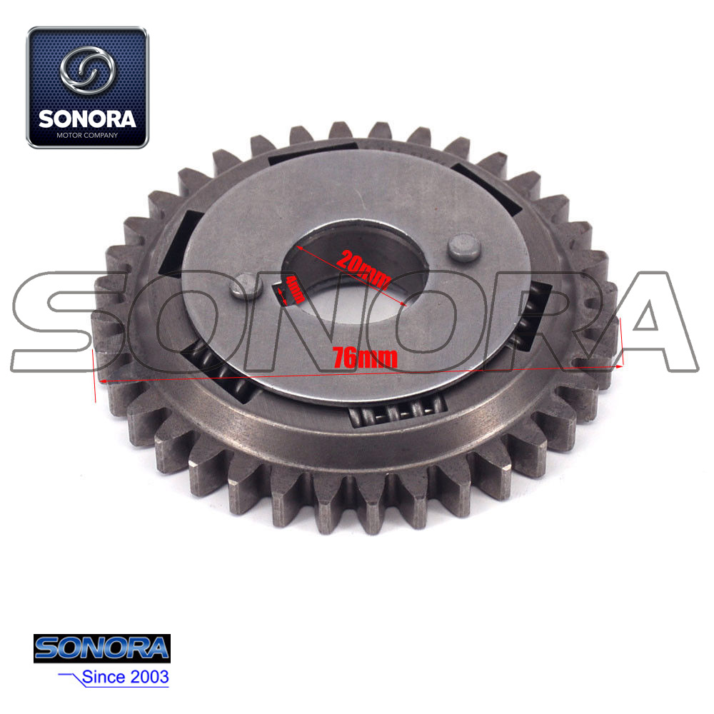 NC250 Counter Balance Shaft Drive Gear (3)