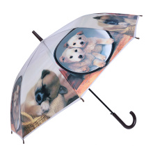 Cute Creative Animal Printing Kids / Children / Child Umbrella (SK-12)