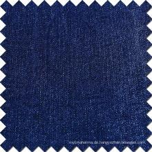 Blaues Baumwoll-Rayon-Polyester-Spandex gebürstetes Denim-Gewebe