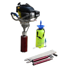 Portable 30M depth geotechnical investigation backpack drilling rig core sample drill machine
