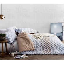 Удобная микрофибры ткань для постельные принадлежности лист с хорошей цене