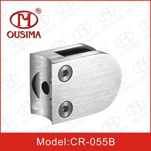 Stainless Steel Round Shape Glass Clamp Spigot for Handrail System (CR-055B)
