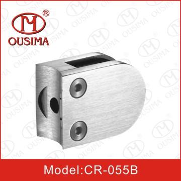 Edelstahl-Rundform-Glasklemme-Zapfen für Handlaufsystem (CR-055B)
