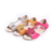 Горячие продажи сандалии девочек сандалии звезды плоской оптовой