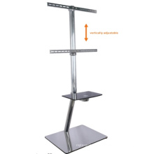 """32 """"-60"""" Built in Cable Design Stand TV Mount com DVD Rack (PSF420-1300)"""