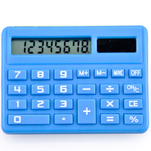 Mini calculatrice scolaire à double alimentation