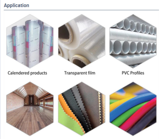 Imported Calcium-zinc stabilizers for Flexible PVC